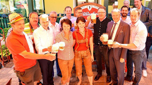 4 Millionen Krügerl Bier ausgeschenkt!