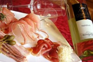 Edles Produkt: Kärnten-Wein-Speck