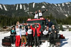 Fam. Sereinig lud zum Skirennen im Bodental