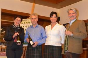 Weinverkostung im Gasthof zur Schmiede